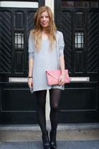 H&M dress - Primark bag - asos heels