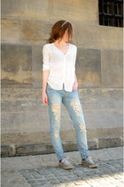Mango jeans - Mango blouse