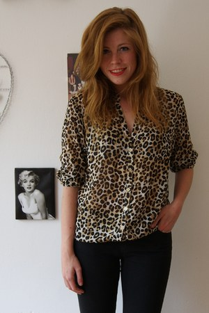 Zara jeans - H&M blouse