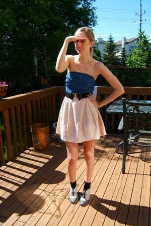 Paramix dress - we who see shoes - Paramix belt