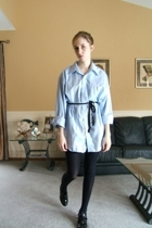 Value Village shirt - American Apparel belt - American Apparel tights - Steve Ma