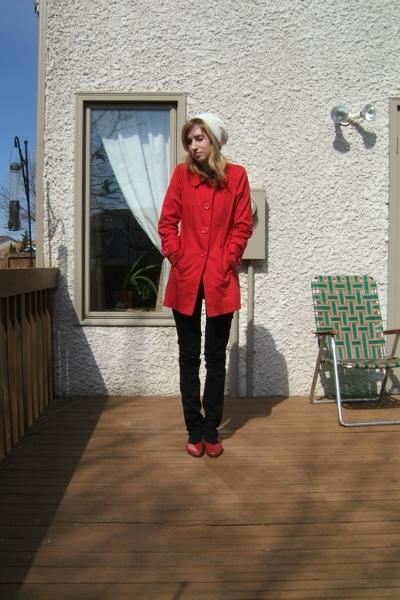 Urban Behaviour jacket - Aldo hat - Urban Outfitters pants - Value Village shoes