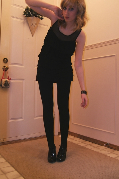 Urban Behaviour dress - American Apparel tights - forever 21 accessories - Steve