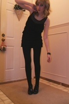 Urban Behaviour dress - American Apparel tights - forever 21 accessories - Steve