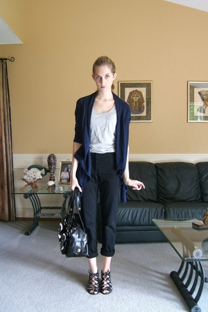 joe fresh style sweater - joe fresh style top - joe fresh style pants - Aldo sho