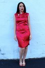 Red-vintage-shoes-red-vintage-dress