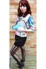 Asos-bag-vintage-shorts-pastel-scuba-asos-top-sheer-striped-asos-stockings