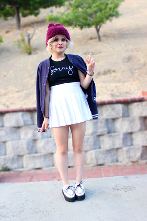 American Apparel skirt - Forever 21 jacket