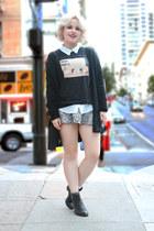 skirt mermaid Zara skirt - Zara top