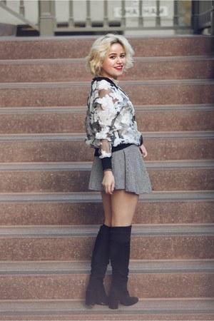 brandy melville skirt - Zara heels