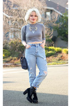Forever 21 top - Zara pants