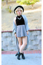 American Apparel cardigan - velvet crop American Apparel top
