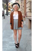 Zara blazer - brandy melville skirt