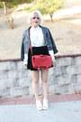 Black-leather-forever-21-jacket-red-bag-h-m-bag-ebay-skirt
