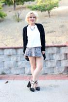 Zara heels - Zara skirt