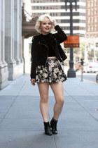 skirt short Sheinside skirt - H&M jacket