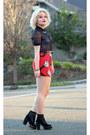 Lazy-oaf-skirt-american-apparel-top