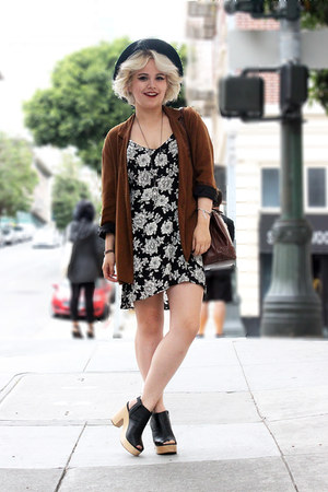 Zara blazer - brandy melville dress