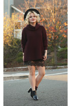 American Apparel sweater - Forever 21 skirt