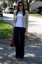 Kenneth Cole jacket - J Brand jeans - banana republic shirt - Pulicati bag