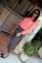 Target pants - Gucci bag - Michael Kors sunglasses - Target blouse