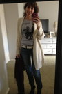 American-eagle-jeans-urban-outfitters-sweater-urban-outfitters-shirt