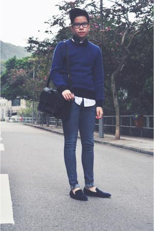 blue COS jumper
