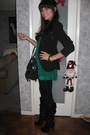 Vintage-blazer-unknown-boots-guess-purse