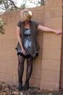 Flower-body-central-dress-trellis-target-tights-olive-target-cardigan-boot