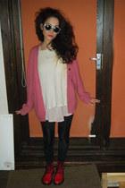 H&M leggings - Camden Market boots - ElTino shirt - ElTino jumper