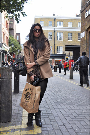 Wanted boots - from Germany blazer - Balenciaga dupes bag - Monki sunglasses - l