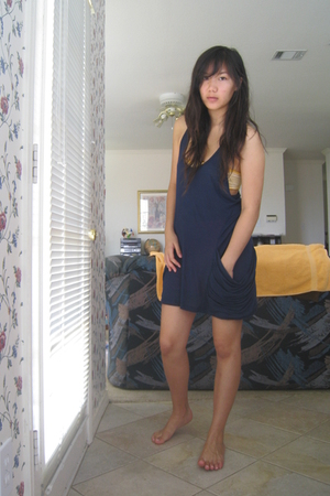 Urban Outfitters dress - American Eagle bra - American Apparel shorts
