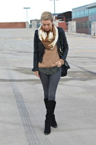Chinese Laundry boots - Old Navy jeans - Target jacket - Old Navy scarf
