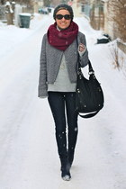 Gap jacket - Old Navy boots - 7 for all mankind jeans - Michael Kors hat