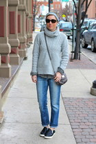 Circus by Sam Edelman shoes - Joes Jeans jeans - Gap sweater - Target shirt