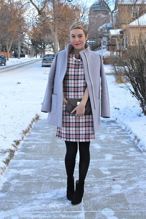 Mia boots - Zara dress - Old Navy coat - Nine West purse - Forever 21 necklace