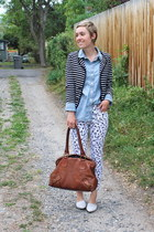 Old Navy shirt - banana republic bag - Gap pants - Chinese Laundry flats