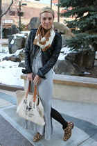 Old Navy scarf - sam edelman boots - Old Navy dress - Target jacket