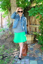 Target jacket - banana republic bag - Old Navy t-shirt - DV by dolce vita flats