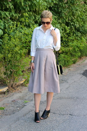 Target shirt - H&M bag - H&M skirt - Target heels