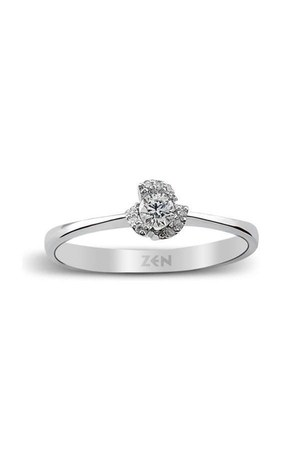 diamond gold Zen Diamond ring