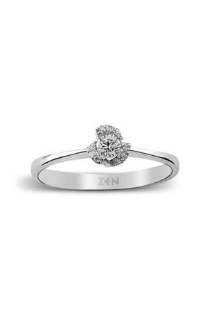 diamond gold Zen Diamond ring