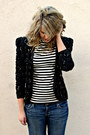 Thrifted-vintage-blazer-merona-top-american-eagle-jeans
