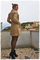 black asos boots - beige Vero Moda coat
