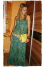 Yellow-asos-accessories-gold-asos-accessories-green-terranova-dress
