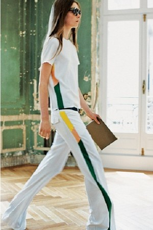 Celine bag - Celine top - Celine pants - glasses