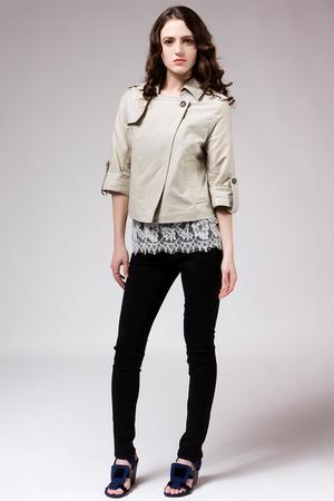 beige BB Dakota jacket