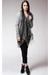 black Shawlsmith London scarf - gray gestuz dress