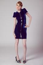 Denny Velvet Party Dress by Rodebjer