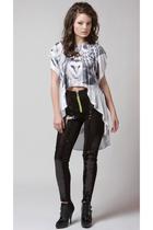 Gemma Degara top - stolen girlfriends club pants